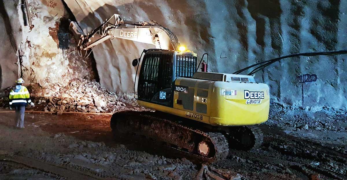 Construcción subterránea en Chile: Aplicando nuevas tecnologías