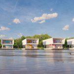 Casas modulares flotantes: Viviendas de hormigón para el cambio climático