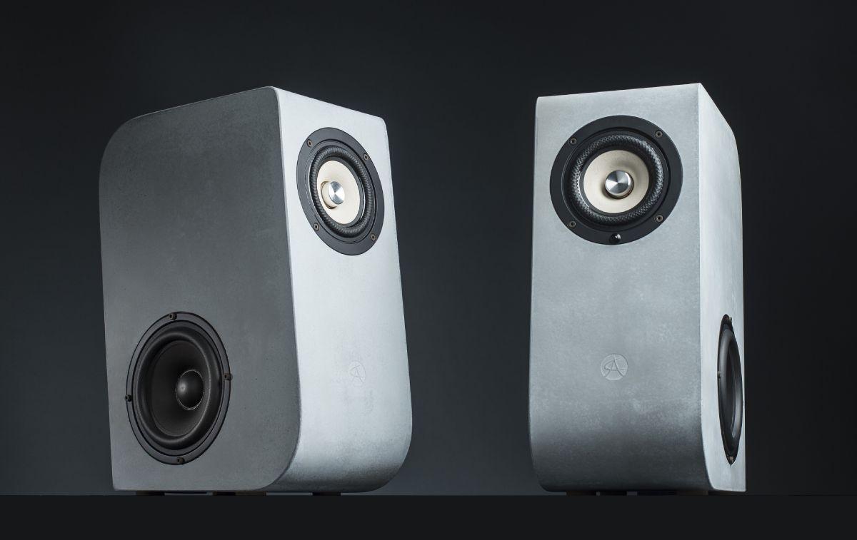 Parlantes de hormigón: El sonido tal cual es