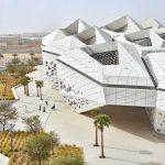 Centro de Estudios e Investigaciones del Petróleo Rey Abdullah: Un panal de hormigón en pleno desierto