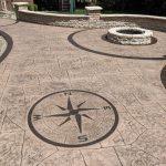 Hormigón estampado: Color y diseños extraordinarios para pavimentos de hormigón