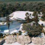 Villa G01: Hormigón curvo para la costa mediterránea