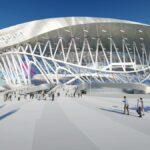 Presentan el nuevo estadio de Hockey sobre hielo del CKA de San Petersburgo