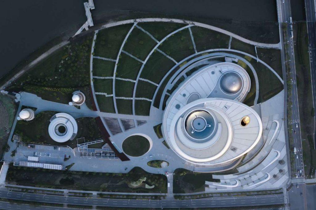 Museo de Astronomía de Shanghai: Una vista al espacio con hormigón- 2
