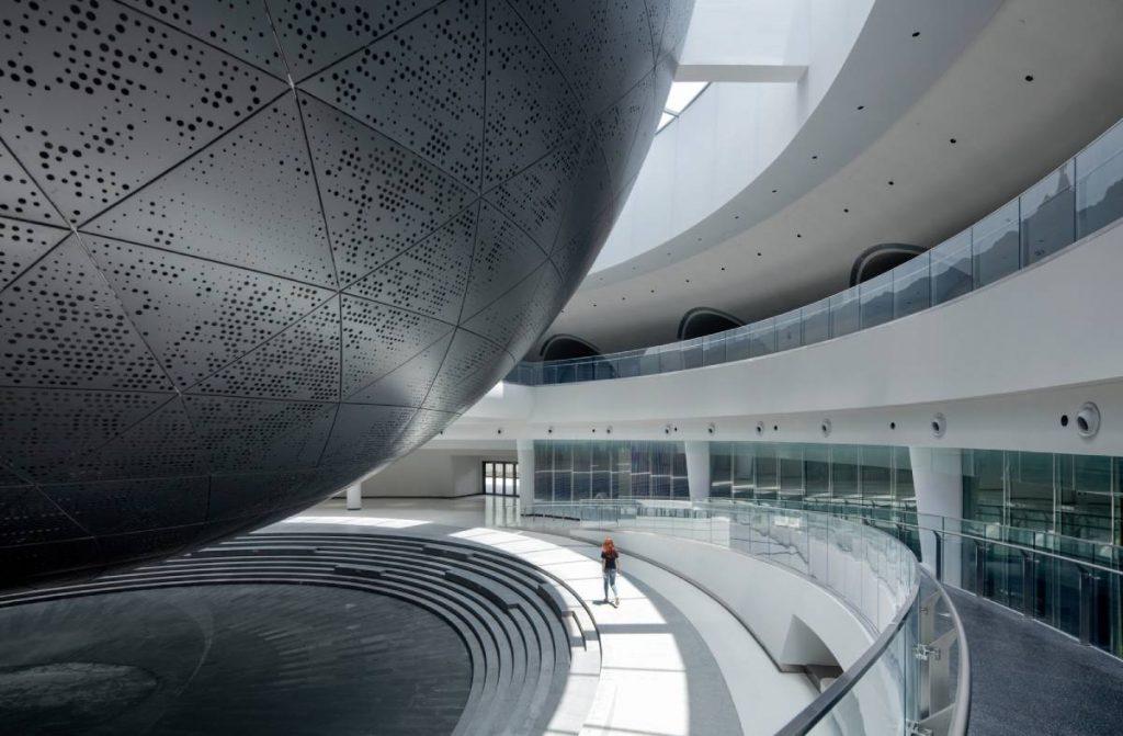 Museo de Astronomía de Shanghai: Una vista al espacio con hormigón - 3