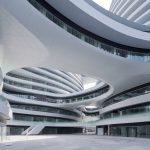 Galaxy Soho: La arquitectura tradicional china bajo la visión de Zaha Hadid