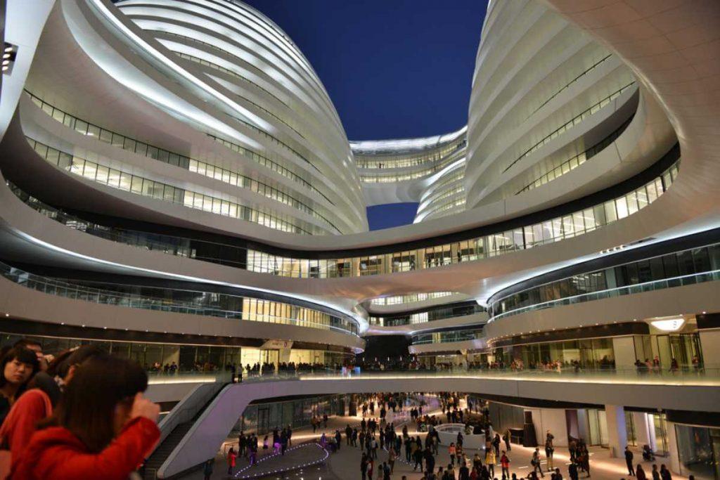 Galaxy Soho: arquitectura tradicional china bajo la visión de Zaha Hadid - 4