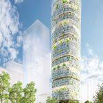"Jian Mu Tower: Un nuevo concepto de rascacielo ""verde"""