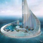 "Zanzibar Domino Tower: Una ""espiral"" que busca transformar la costa de África"