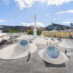 Museo Amos Rex: Un nuevo espacio urbano de hormigón que nace del subsuelo